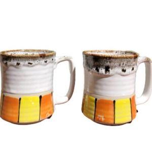 Japanese Stoneware Coffee Mugs